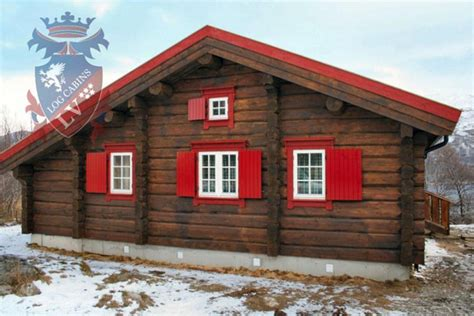 log cabins scandinavian log cabins