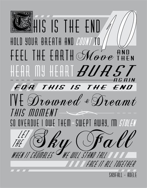 adele skyfall lyrics best 25 skyfall adele ideas on skyfall song