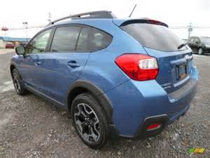 Blue Subaru Crosstrek Quartz Blue Pearl 2014 Subaru Xv Crosstrek 2 0i Limited
