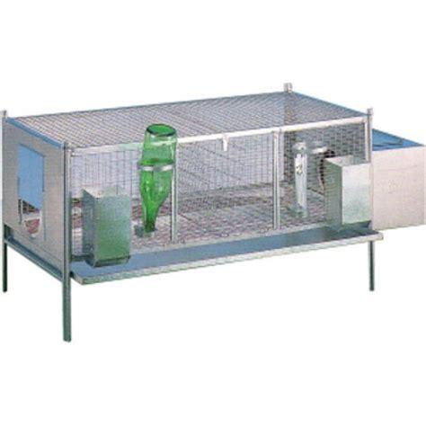gabbia per coniglio gabbia per conigli zincata 120 x 60 cm