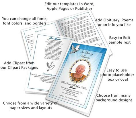 funeral programs templates funeral program template funeral programs obituary