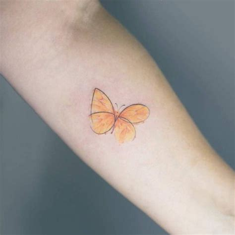 3d Tattoos Arm 5260 by Best 25 Yellow Butterfly Ideas On