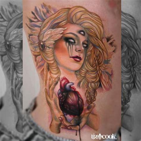 liz cook tattoo third eye by liz cook tattoos