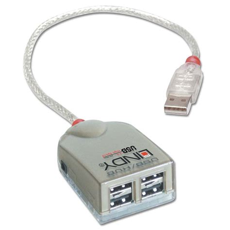 Usb Hub Dengan Power Supply 4 port usb 2 0 hub with power supply from lindy uk