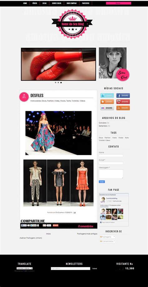 templates blogger personalizados 98 melhores imagens de blogs e sites personalizados no