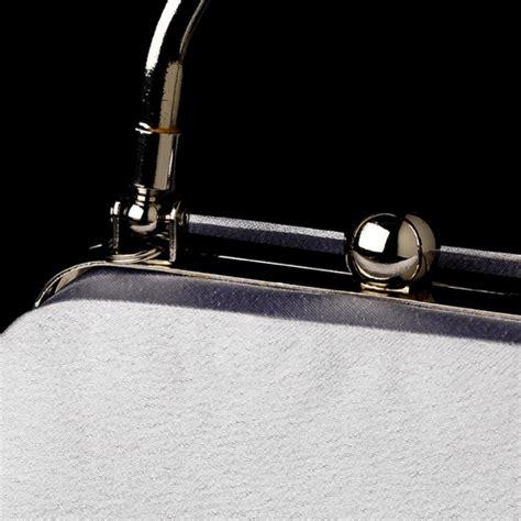 New Arrival Bna Bag Top Handle 2268 fabulous silver satin evening bag 7647