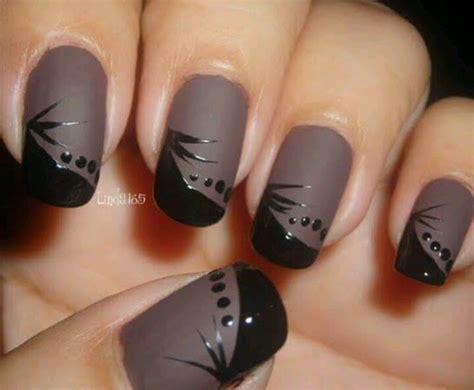 matte black nail designs 55 most stylish matte nail designs