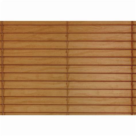 1 5 Wood Blinds shop custom size now by levolor honey pine faux wood 1 5 in slat room darkening plantation