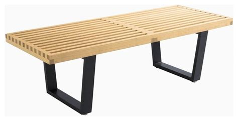 Small Indoor Bench Wooden Slat Bench Small In Contemporary Indoor