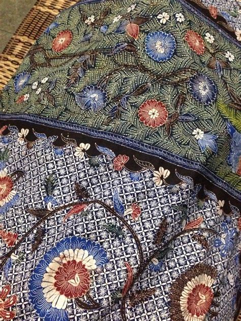 Batik Madura 16 batik gentongan from madura in order to get a rich color dye from elements such as