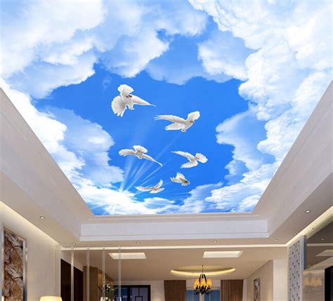Ceiling Wallpaperwallpaper Mural Driverlayer Search Engine Sky Ceiling Wallpaper