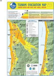 oregon tsunami evacuation maps appendix d available tsunami evacuation maps tsunami