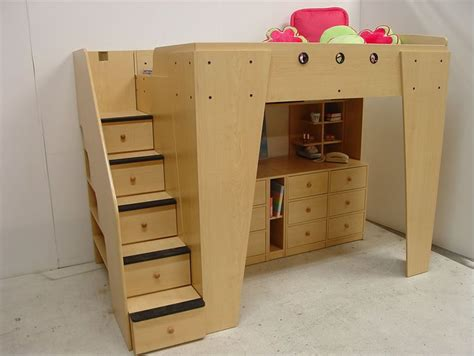 berg loft bed berg furniture kid s headquarters loft bed with storage