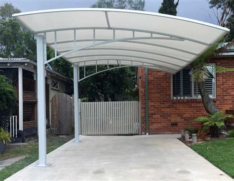Carport Structure by Carports Shelters In Sydney Pioneer Shade Structures