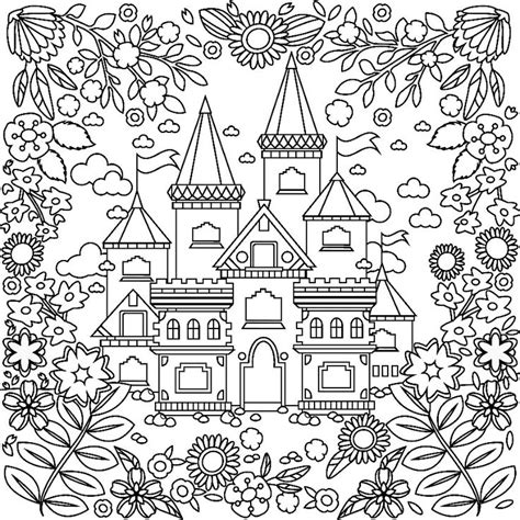 medieval coloring pages for adults 1036 best images about colorir casas e etc on pinterest