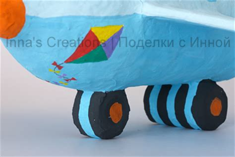 How To Make A Paper Mache Airplane - inna s creations make a papier mache airplane using a