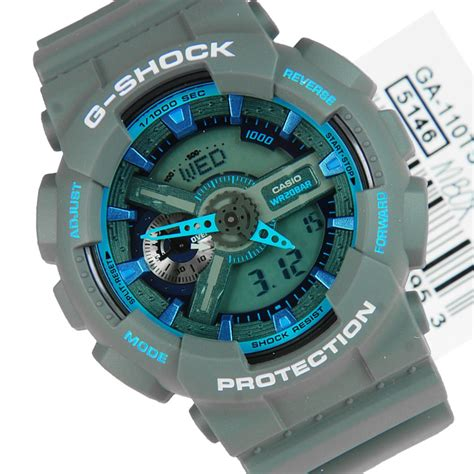 Casio G Shock Grey casio g shock grey blue ga 110ts 8a2dr ga110ts