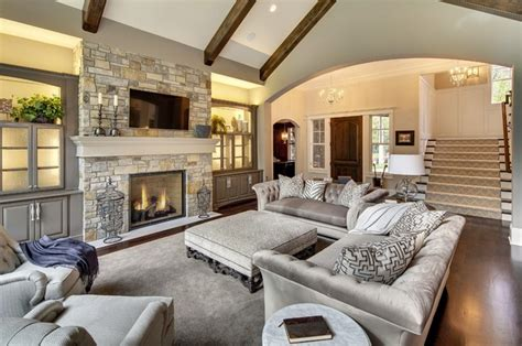 dream living room wayzata dream home