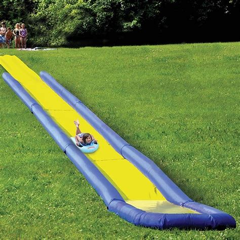 Inflatable World S Longest Backyard Water Slide For Sale