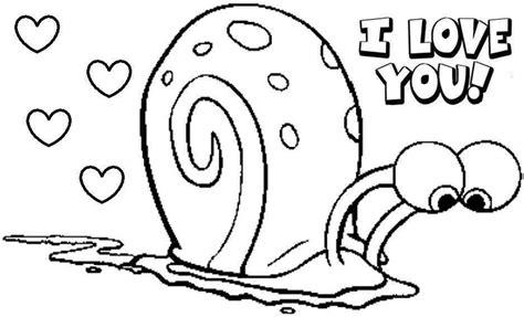 spongebob i love you coloring pages spongebob valentine coloring pages free murderthestout