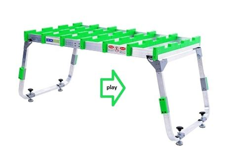 benchmark portable work bench benchmark portable work table work bench cutting table great tools pinterest