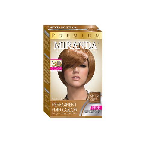 Miranda Hair Color 30ml Kecil miranda hair color golden brown 30ml official store
