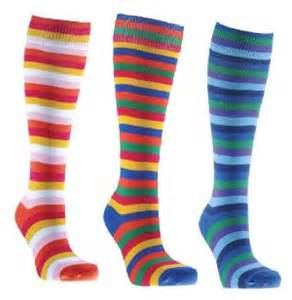 colorful knee high socks bright colorful prism knee high athletic socks available
