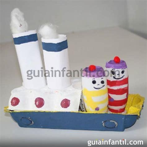 barco pirata hecho en carton barco hecho con cart 243 n manualidades para ni 241 os