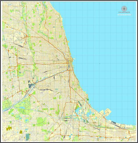 chicago map vector chicago map vector swimnova