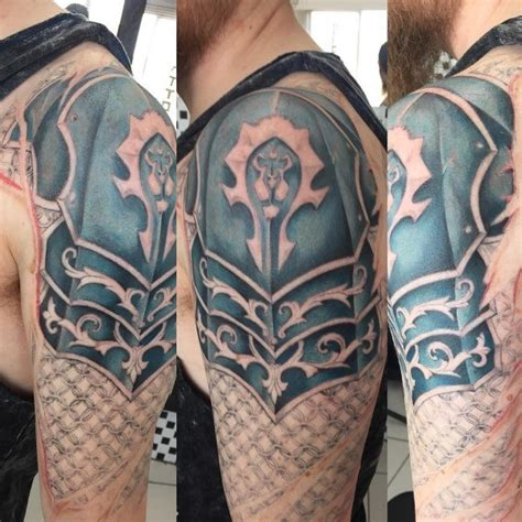 70 world of warcraft tattoo designs for men video game