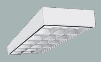 2x4 drop ceiling lights surface mount 2x4 parabolic light fixture without drop ceilings buylightfixtures