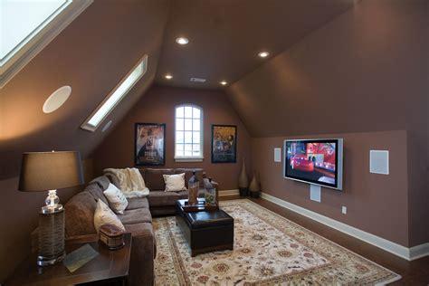 attic tv room attic spaces to