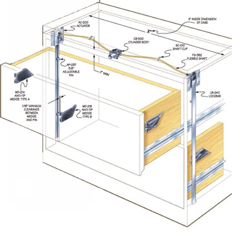 How To Install Drawers In Cabinets Compx Timberline Lateral Files