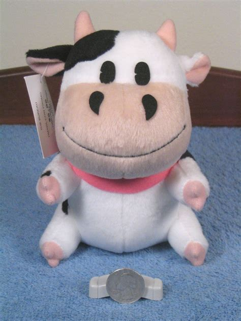 stuffed cow official quot harvest moon quot stuffed cow big fan of the series and isn t it mooooving on