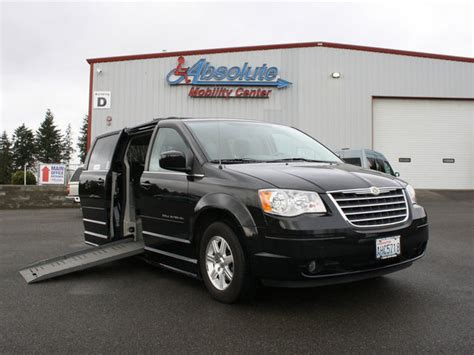 chrysler wheelchair vans  sale  owner  tacoma absolute mobility center