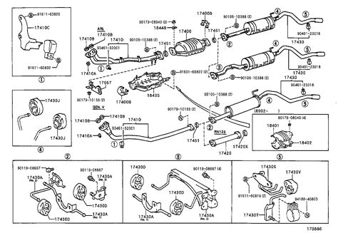 1994 Toyota 4runner Exhaust System 1998 Toyota Rav4 Exhaust Diagram Pictures To Pin On