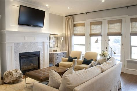 Neutral Living Room With Fireplace Neutral Living Room Tv Home Ideas