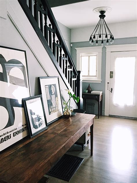 Fixer Foyer by Stylehunter Collective 5 Ways To Display Wall In A