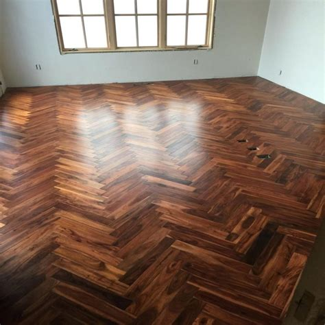 Alloc Herringbone Laminate Flooring