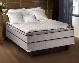 spinal comfort pillowtop size mattress box