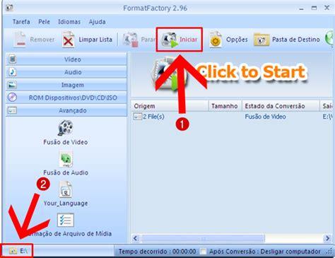 format factory unir videos como unir videos em um s 243 no format factory 171 blog tudo dicas