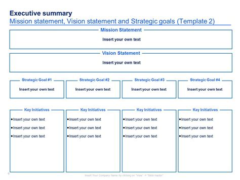 strategy summary template 7 best marketing competitor analysis images on
