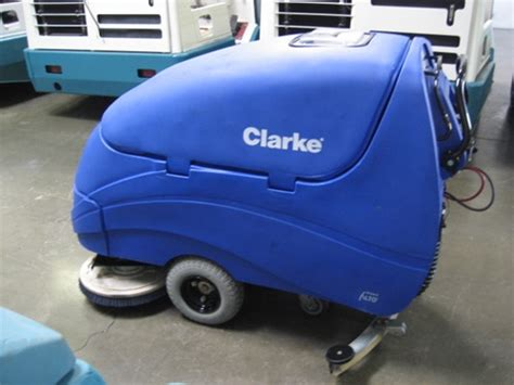 Clarke Floor Scrubber by Clarke Encore 33 Floor Scrubber Used Walk