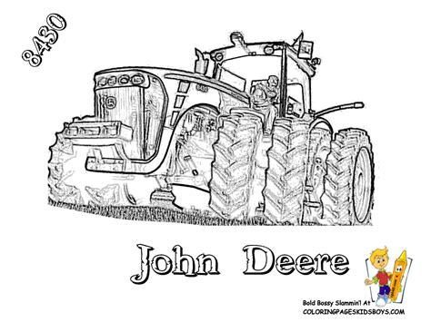 deere tractor coloring page free coloring pages of tracteur new
