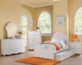 Bedroom Furniture For Girls Girl S White Bedroom Set Cecilie In Acme Furniture Ac30300set