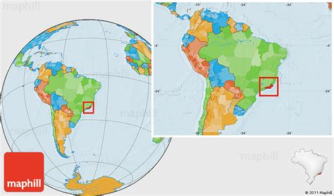 de janeiro on a world map political location map of de janeiro within the
