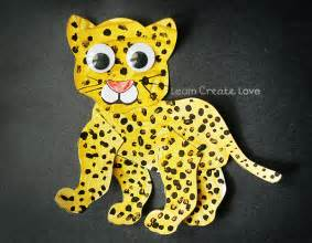 How To Make A Jaguar Printable Tiger Jaguar Crafts