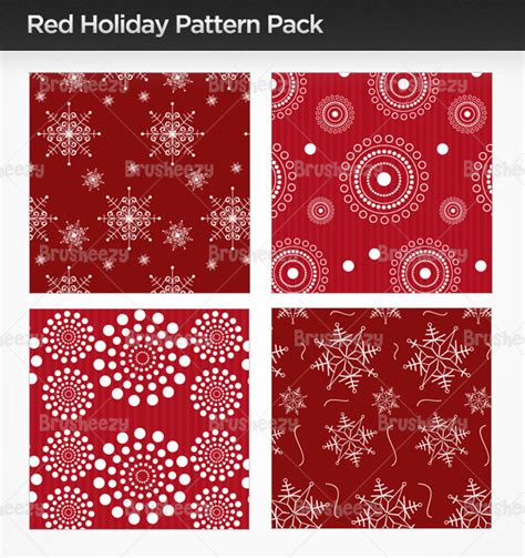 christmas pattern brushes photoshop red holiday photoshop patterns free photoshop brushes at