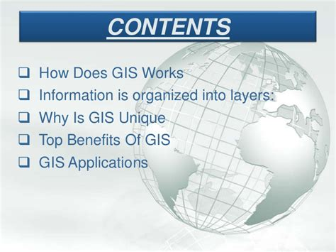 Gis Powerpoint Templates my ppt on gis