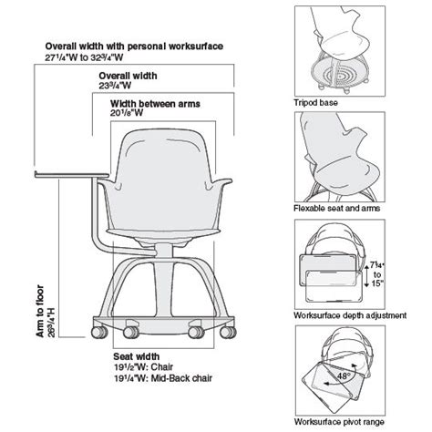 classroom tables and chairs dimensions node tripod base tripod